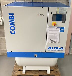 New Almig Combi 11 Receiver Mounted Rotary Screw Compressor + Dryer + Filters!