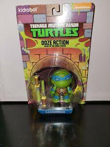 Teenage Mutant Ninja Turtles Ooze Action Glow In The Dark Leonardo Kidrobot New
