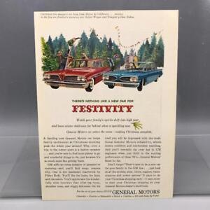 Vintage Magazine Ad Print Design Advertising General Motors Automobiles
