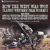 How the West Was Won (Classic Western Film Scores 1 CD Goldsmith Bernstein etc