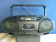 Panasonic Boom Box CD Disc Single Cassette Tape XBS Radio Player MASH RX-DS22