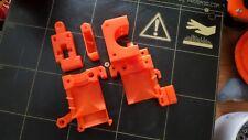 3D Printer Extruder Printed Parts i3 MK2 MK2S Prusa Transparent Orange PETG