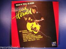 """★★ 12"""" LP - TED HEROLD - Rock ´n´ Roll Is King - Teldec 626 089 / Platte NM"""
