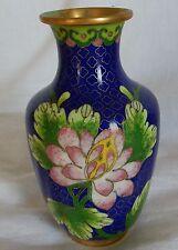 Vase Chine (Bronze ou laiton) émaillé CHina