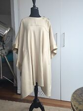 New Chloe Wool and Cashmere Beige Poncho SS 2010