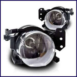 2005-2007 BMW E63 E64 COUPE CONVERTIBLE OEM REPLACEMENT FOG LIGHTS CLEAR PAIR