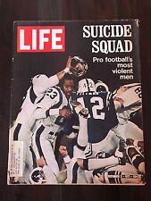 VINTAGE LIFE Magazine December 3 1971 SUICIDE SQUAD Football's most violent men