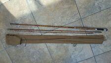 vintage cane single handed fishing rod courier finest goldcrest forshaw's bootle
