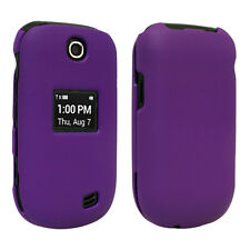 Purple Hard Case Phone Cover Snap On Shield for LG Fluid 2 AN170 ☆USA Seller☆