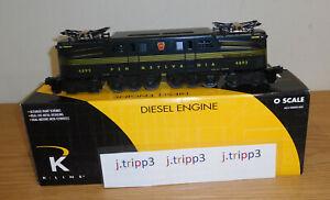 K-LINE K2780-4892IC PENNSYLVANIA GG-1 ELECTIC ENGINE LOCOMOTIVE O GAUGE TRAIN PA