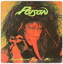 OPEN UP AND SAY… AHH!  POISON Vinyl Record
