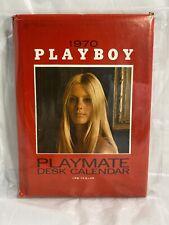 Rare Collectible Hugh Hefner Playboy 1970 Playmate Desk Calendar