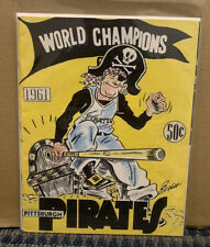 1961 PITTSBURGH PIRATES World Champions Yearbook (B30)