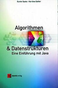 Algorithmen und Datenstrukturen. Eine Einführung mi... | Buch | Zustand sehr gut