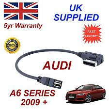 For AUDI A6 4F0051510Q MEMORY Stick & MP3 USB Socket AMI MMI Audio Cable