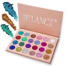 Paleta De Sombras Para Ojos Colores Escarchados Pigmentados Duraderos Waterproof