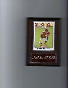 JAMAAL CHARLES PLAQUE KANSAS CITY CHIEFS KC FOOTBALL NFL   C