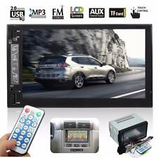 """7""""HD Double 2DIN Bluetooth Touchscreen Car Stereo MP5 Player MP3 FM Radio USB SD"""