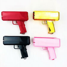 Supreme Money Gun Cash Cannon Gold Pink Launch Toy & 100 PCS Custom Dollar Bills