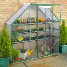 Ultimate Spacesaver Compact Mini Greenhouse (2x6ft) Tomato Growhouse