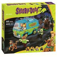 Scooby Doo Building Mystery Blocks Machine Toys Model 10428 Educational Gift