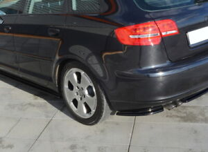 REAR SIDE SPLITTERS FOR AUDI A3 8P SPORTBACK PRE-FACELIFT (2004-2008)