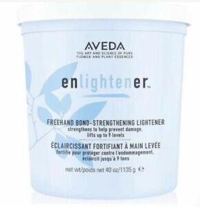 Aveda Enlightener Freehand Bond-Strengthening Lightener Powder, 40 oz, New!