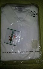 Brand new with tags mens white polo tshirt xL