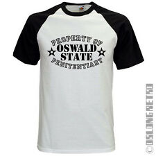 OZ T-SHIRT Ozwald penitentiary - based on the TV & DVD Series - PRISON CLOTHES