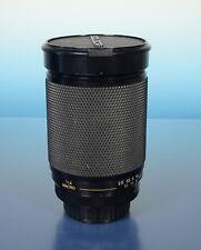 Soligor MC C/D 28-200mm/3.8-5.5 Zoom Macro Objektiv lens für Pentax K - (40538)