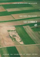 """Carte Archéologique de la Gaule """"LOIRET.45"""" (Rare car Epuisé) - XP DEUS"""