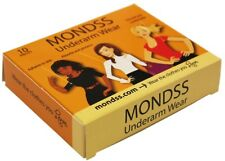 MONDSS Sweat Pads (10 Pads) STICK to SKIN. BEST Underarm Perspiration Absorbent.