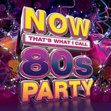 NOW! 80's PARTY 3CD Compilation NEW 2017