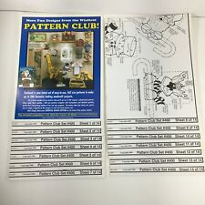 Lot Of Winfield Collection Woodworking Patterns(100)-Holiday Variety New #400