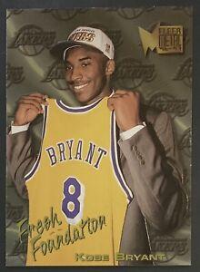 1996 Kobe Bryant Fleer Metal Fresh Foundations RC