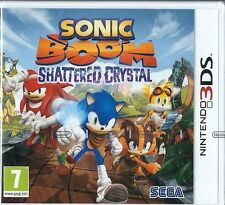 Sonic Boom Shattered Crystal Nintendo 3DS (IMPORT)  NEW (English Gameplay)