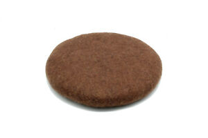 35 CM - Felt Chairpad - Handmade Chair Cushion -Wool Felted Seat Pad -From Nepal