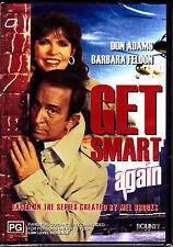 F15 BRAND NEW SEALED Get Smart Again Starring Don Adams Barbara Feldon (DVD1989)