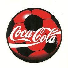 AUTOCOLLANT - FOOT COCA COLA : FOOTBALL BALLON / STICKERS