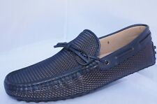 New Tod's Men's Shoes Loafers Size 8.5 Lace Mocassin Drivers Holiday Gift Sale