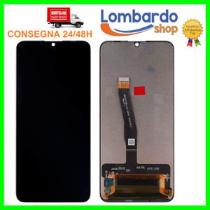 DISPLAY LCD HUAWEI P SMART 2019 POT-LX1 LX2 AL00 TOUCH SCREEN VETRO NERO PLUS
