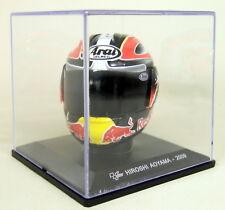 6c85164020072 Altaya 1 5 Scale - Hiroshi Aoyama 2009 Arai Moto GP Helmet with Plinth and