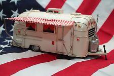 AIRSTREAM TRAILER coin money piggy bank tinplate car blechmodell auto handmade