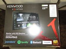 KENWOOD EXCELON DDX6904S DDX-6904S DVD RECEIVER ANDROID AUTO HD RADIO BLUETOOTH
