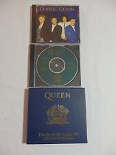 Queen – Classic Queen Promo, Show Must Go On Ltd Ed Import, Queen Talks CDs