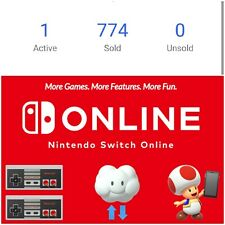 Nintendo Switch Online Membership 12 months (EXP : 20 Jun 2022)