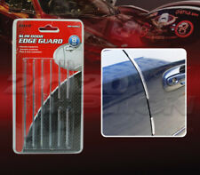 PILOT AUTOMOTIVE PEEL-AND-STICK SLIM EDGE DOOR GUARD FOURING CLEAR 8PCS