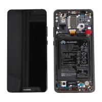 Vetro Lcd Touch Display + Schermo Nero ORIGINALE HUAWEI MATE 10 PRO BLA-L09 +Bat
