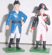 Waterlloo Commanders, Napoleon & Wellington, 1998 Blue Box Metal Figures, 2 Pcs.
