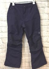 Lands End  Boys Snow Pants SZ 10+ Squall Grow-A-Long Navy Winter Snowboard Ski